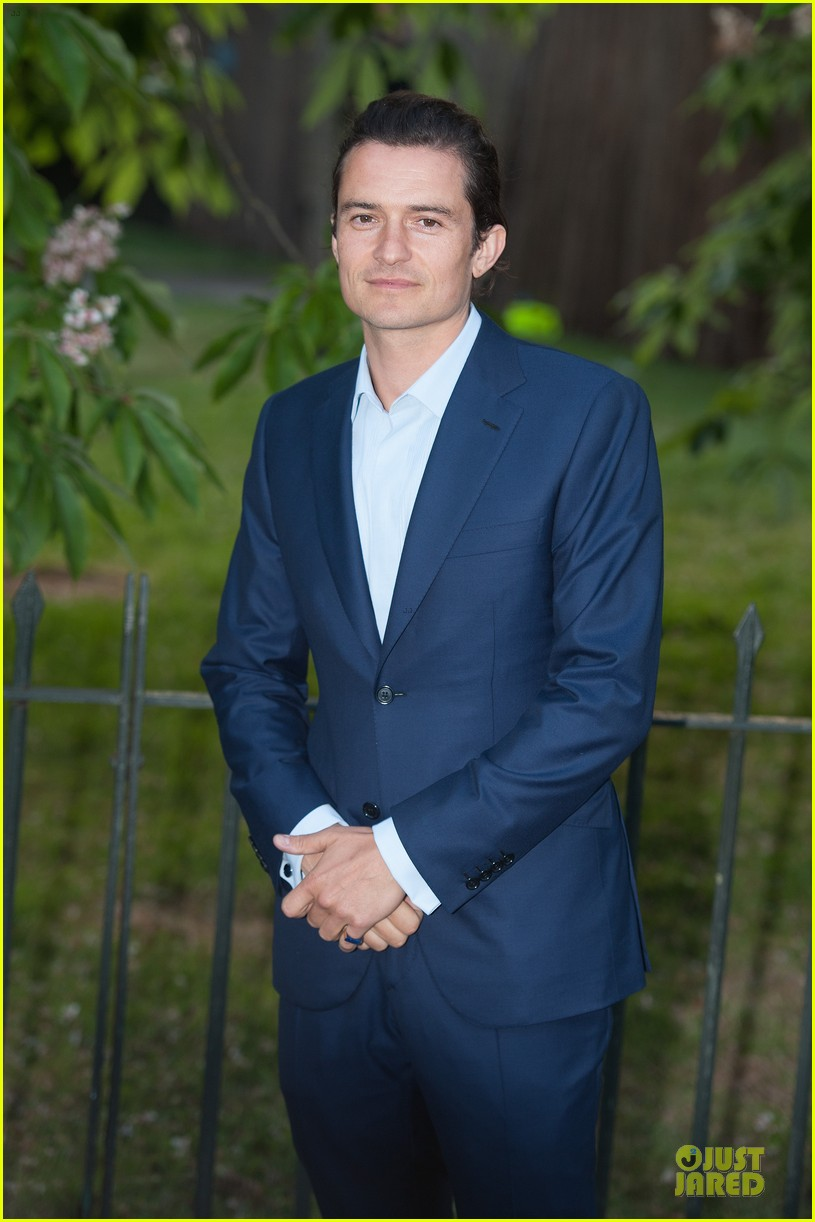 orlando bloom pharrell williams serpentine gallery party 083147839