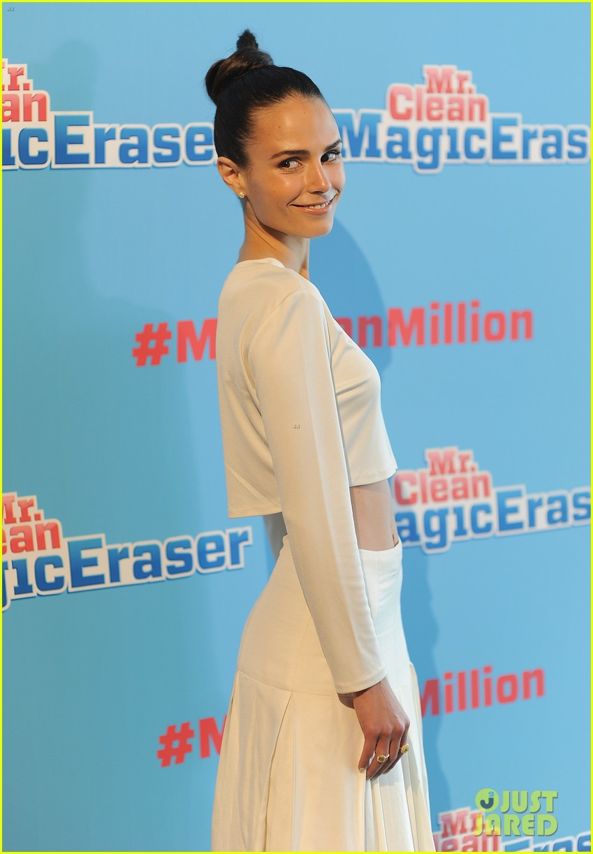 jordana brewster supports brad goreski at the mr clean summer fashion party 053148242