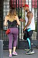 kelly brook david mcintosh catch dawn of the planet of the apes at the grove 12