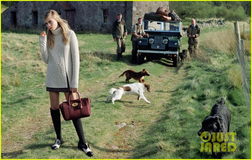 cara delevingne mulberry campaign autumn winter 2014 253147698