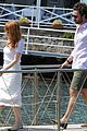 jessica chastain gian luca passi de preposulo boating in ischia 10
