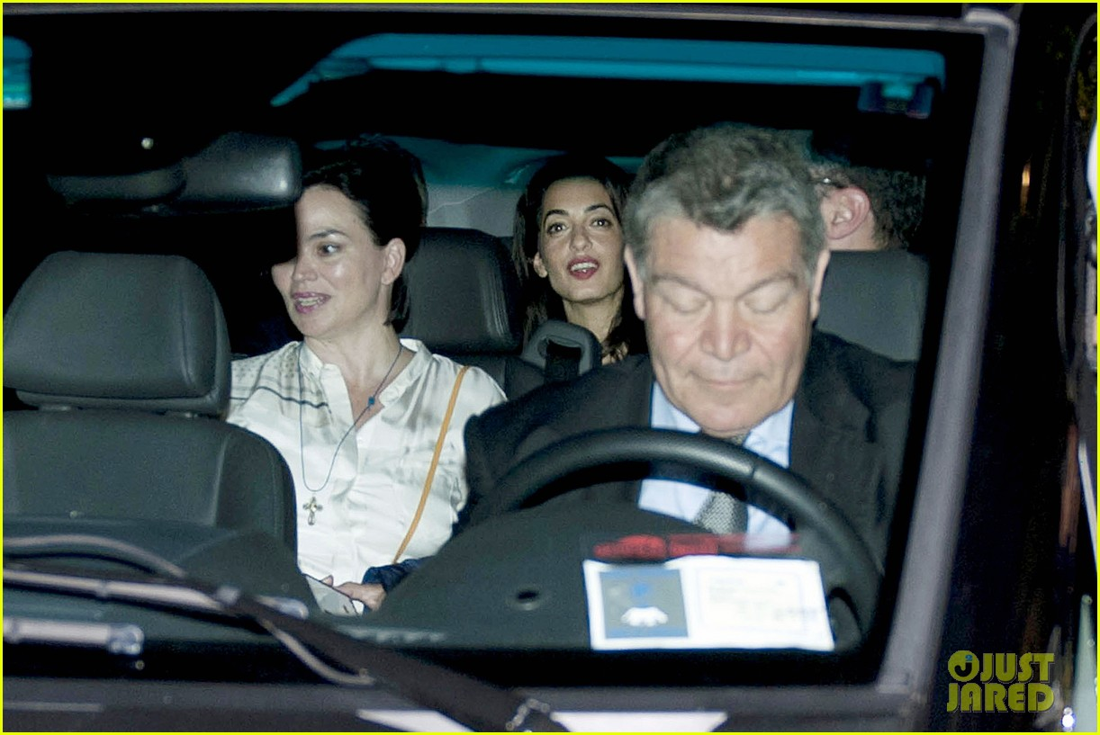 george clooney fiancee amal alamuddin make it family night 043148664