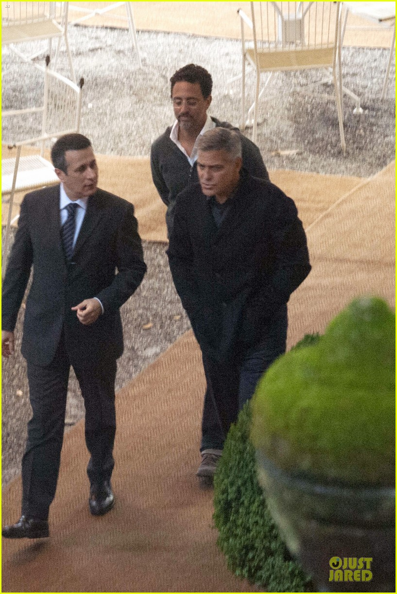 george clooney grant heslov meet up in italy 033152050