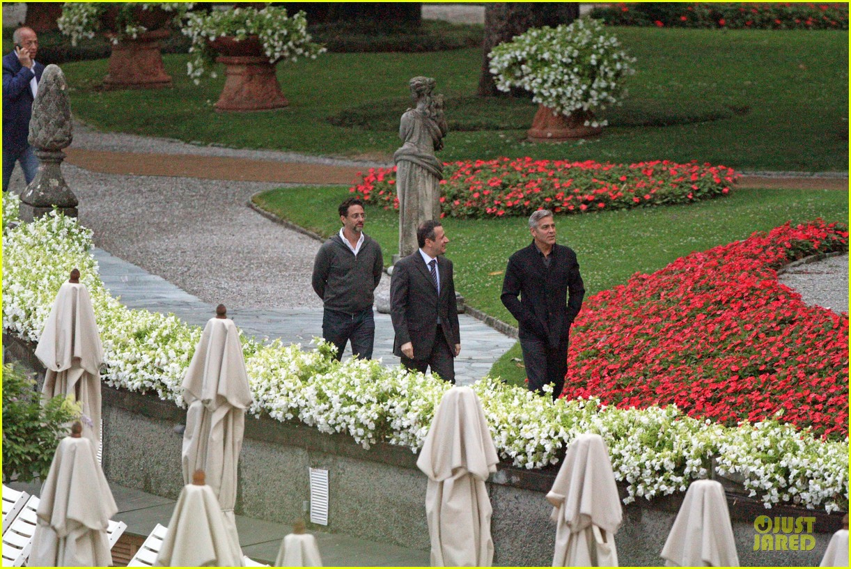 george clooney grant heslov meet up in italy 073152054