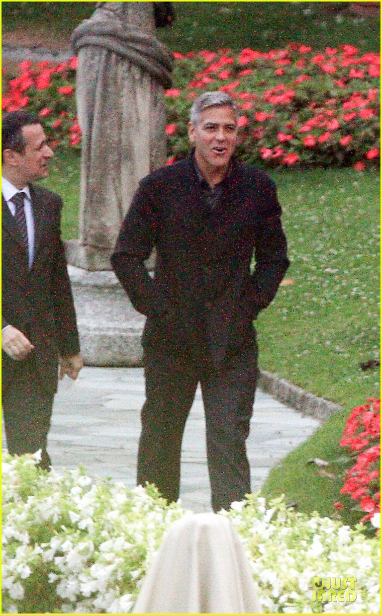 george clooney grant heslov meet up in italy 143152061