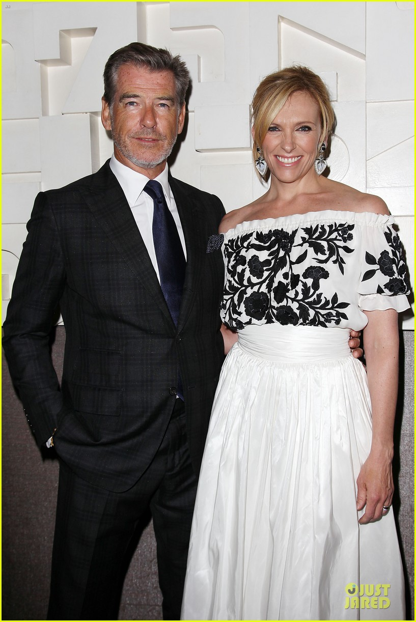 toni collette pierce brosnan long way down premiere 143147355