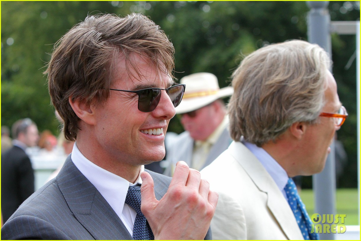 Tom cruise wears his hair messy for a day at the races photo tom cruise wears his hair messy for a day at the races photo 3167869 tom cruise pictures just jared urmus Images