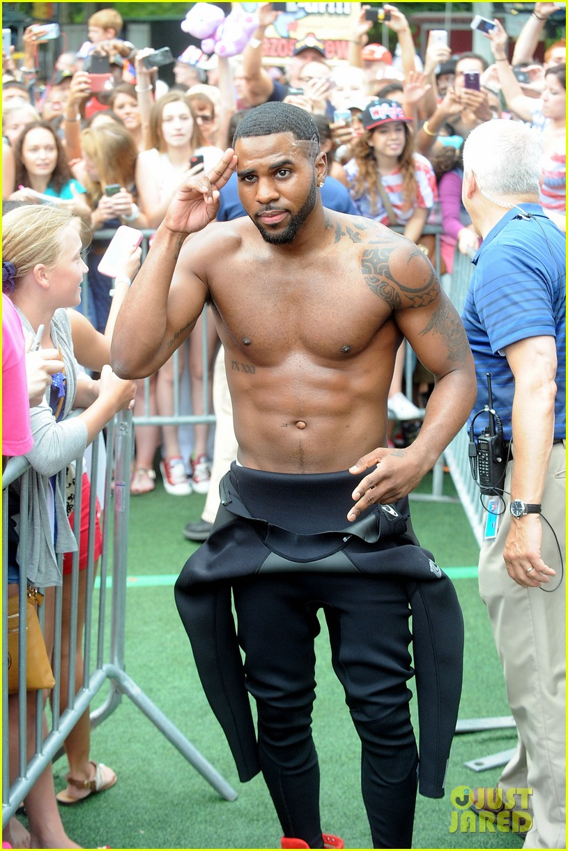 jason derulo shirtless fourth of july gma 013149495