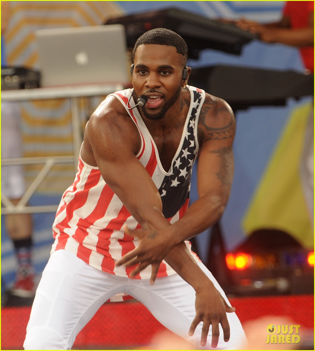 jason derulo shirtless fourth of july gma 023149496