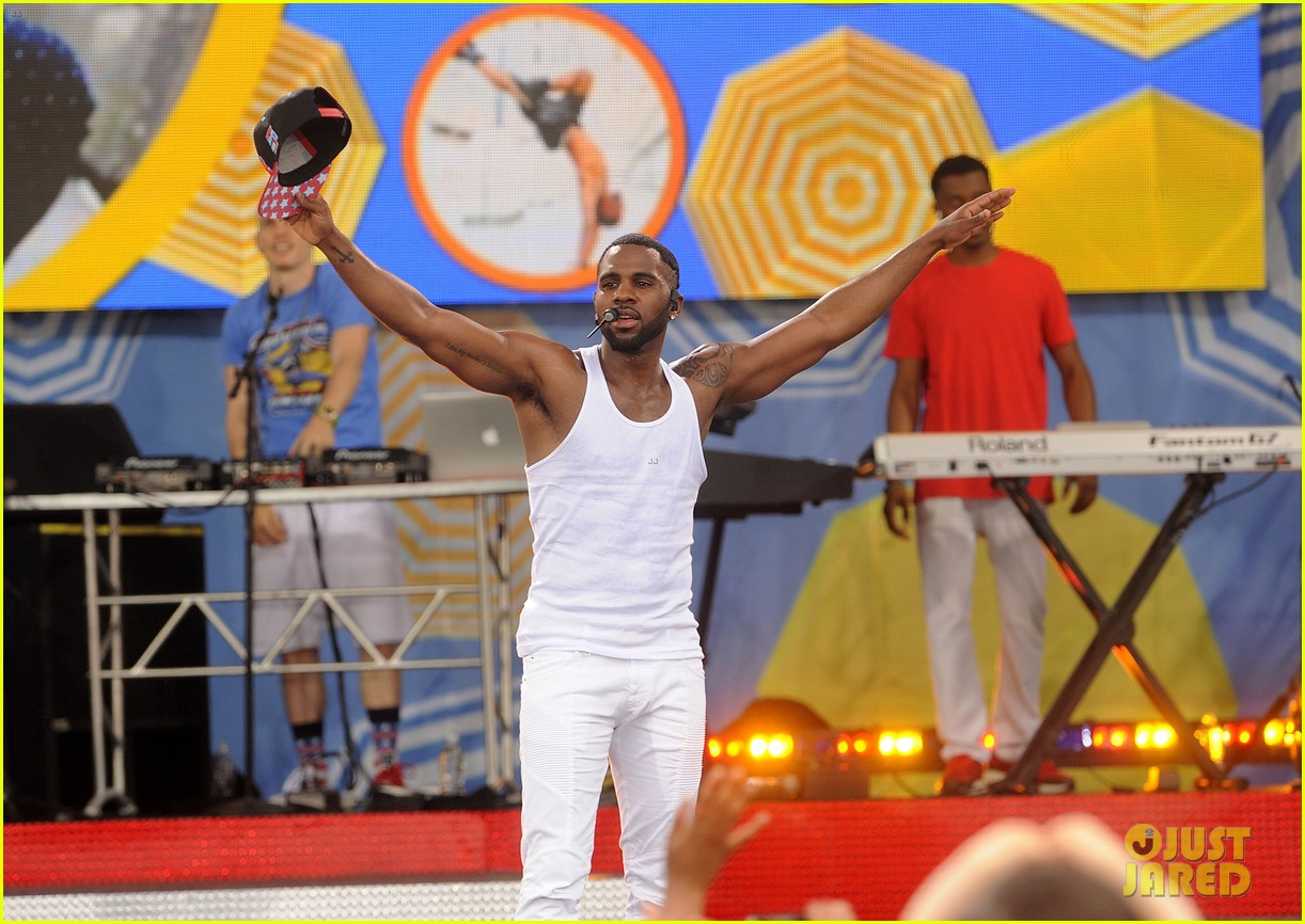 jason derulo shirtless fourth of july gma 133149507