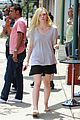 elle fanning switches casual chic outfits errands 13