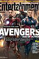 chris evans robert downey jr are captain america iron man on ew cover 01