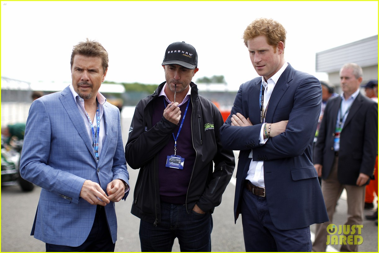 prince harry eventful sunday at the one grand prix 10