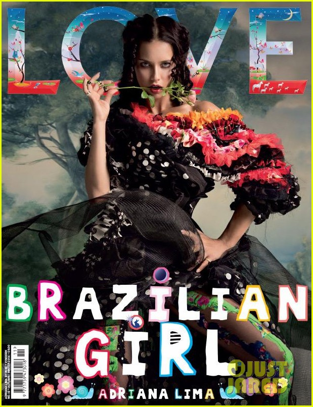 KENDALL JENNER, AMY ADAMS & ADRIANNA LIMA GRACES THE COVER OF 'LOVE MAGAZINE'