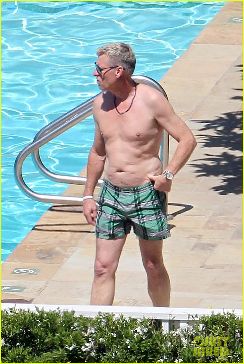 joe simpson hits the pool with a much younger man 183150047