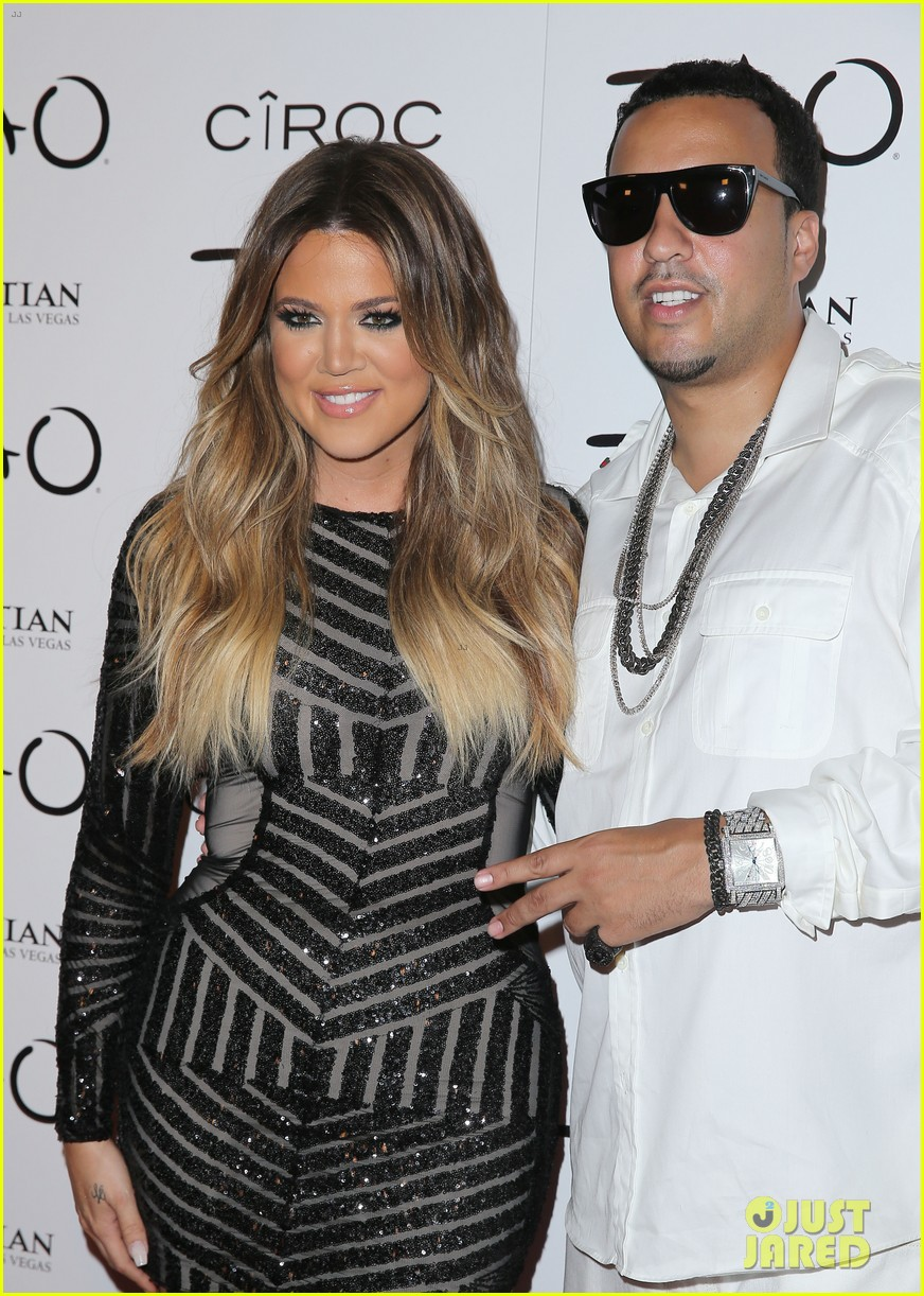 khloe kardashian french montana first red carpet 093149842