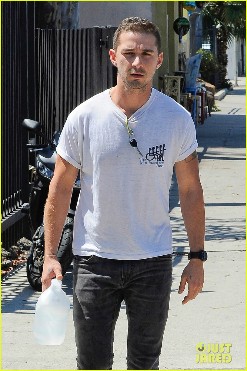 shia labeouf clean shaven looking healthy 043151079