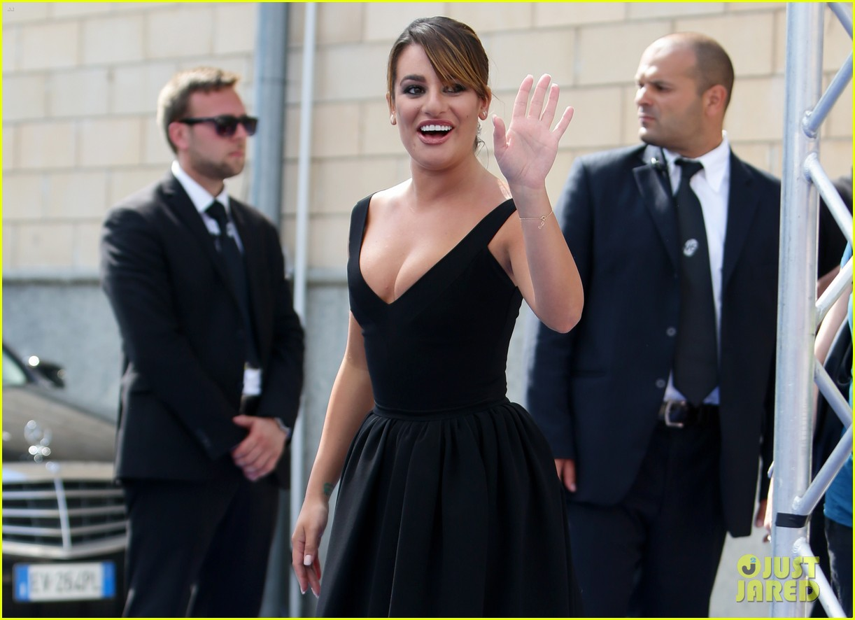 lea michele wows at griffoni film festival 063160376