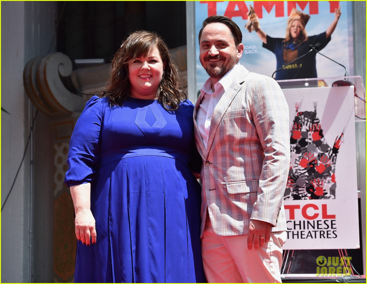 melissa mccarthy hand footprint ceremony 023148511