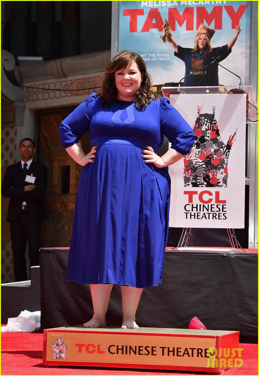 melissa mccarthy hand footprint ceremony 113148520