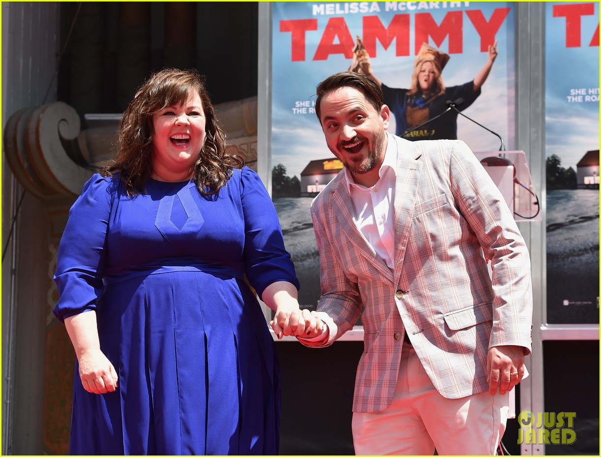 melissa mccarthy hand footprint ceremony 173148526