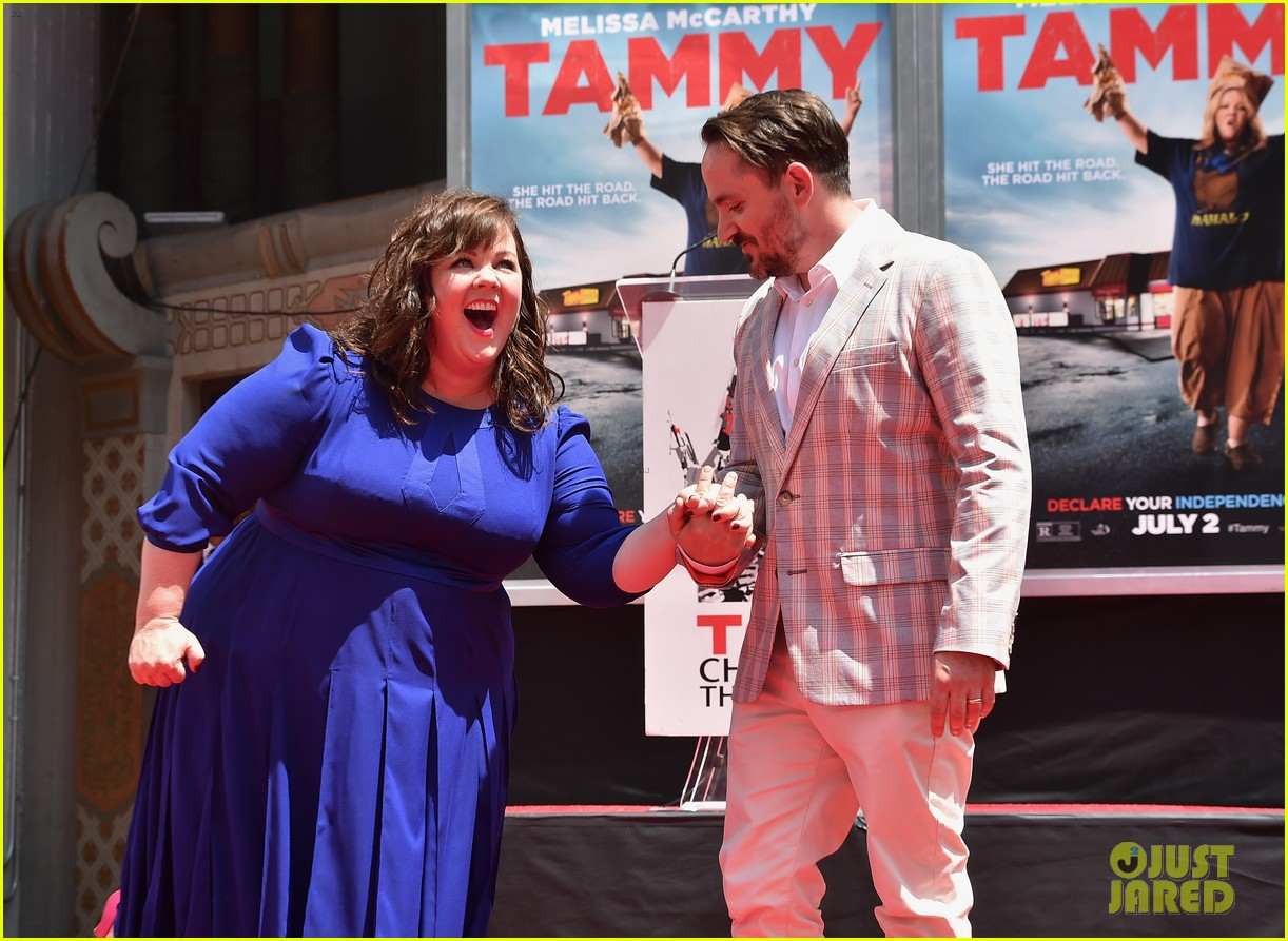 melissa mccarthy hand footprint ceremony 18