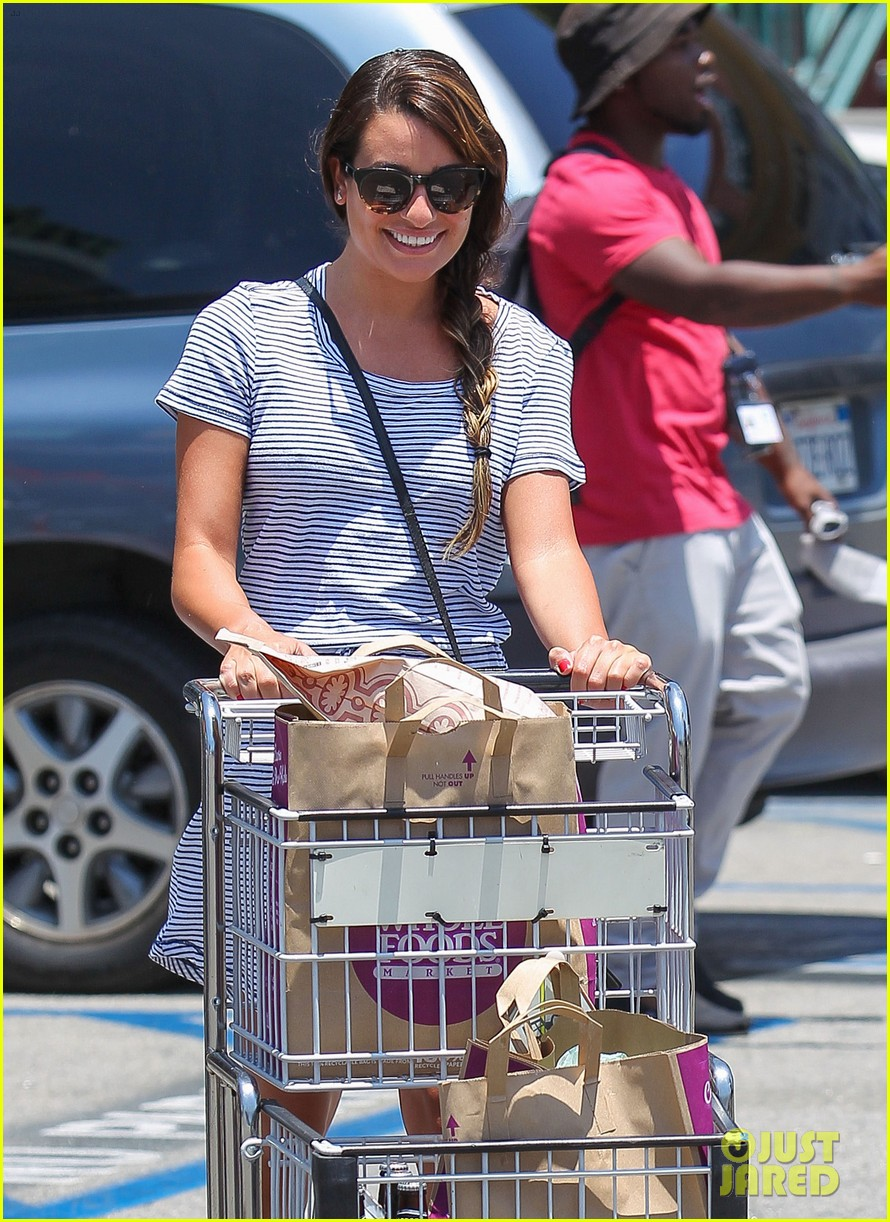 lea michele smiles wide after going public with new boyfriend 04