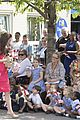 kate middleton is bright in pink for blessed sacrament school visit 13