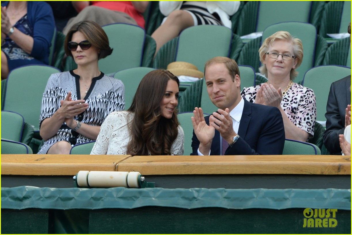 kate middleton prince william cheer on wimbledon 02