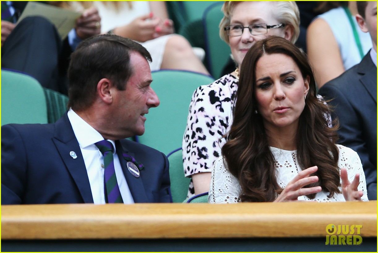 kate middleton prince william cheer on wimbledon 06