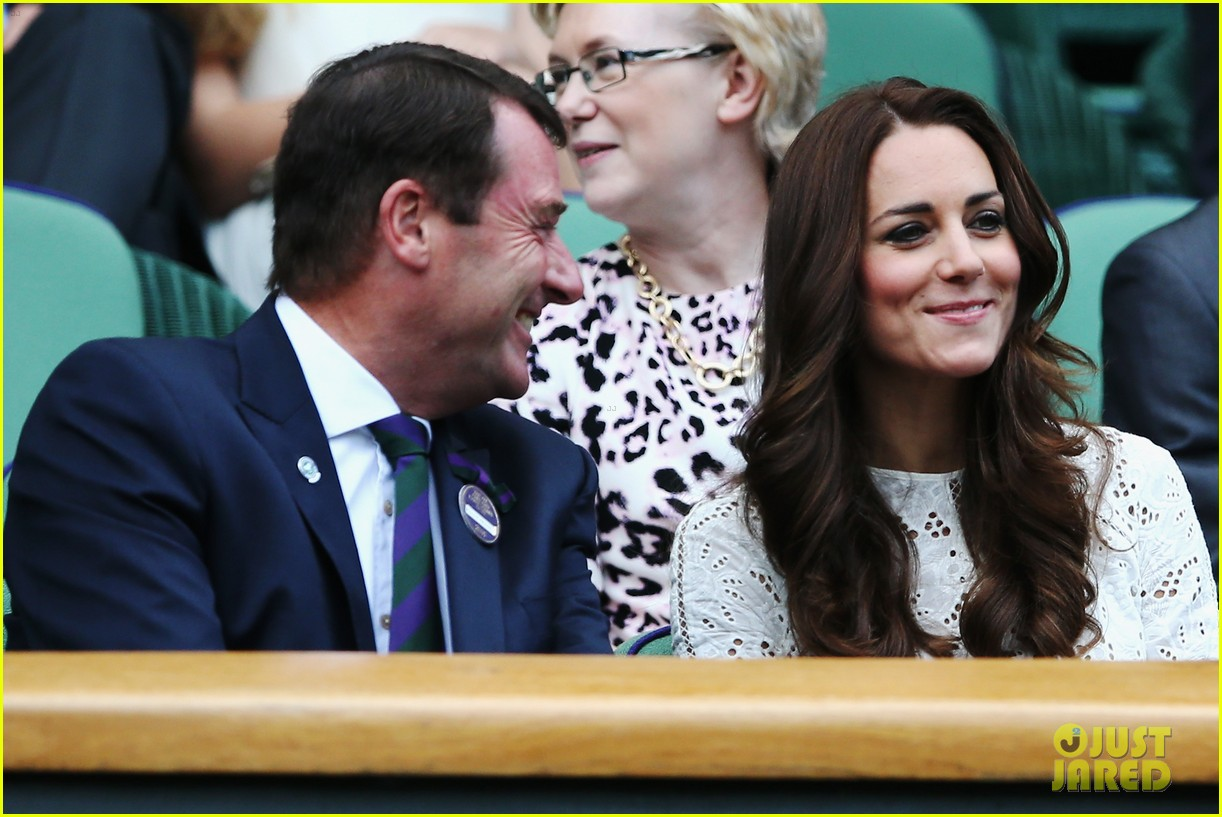 kate middleton prince william cheer on wimbledon 10
