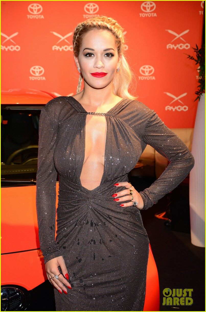 rita ora premieres the new toyota aygo in berlin 13