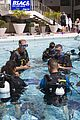 prince harry polo prince william snorkeling pool 06