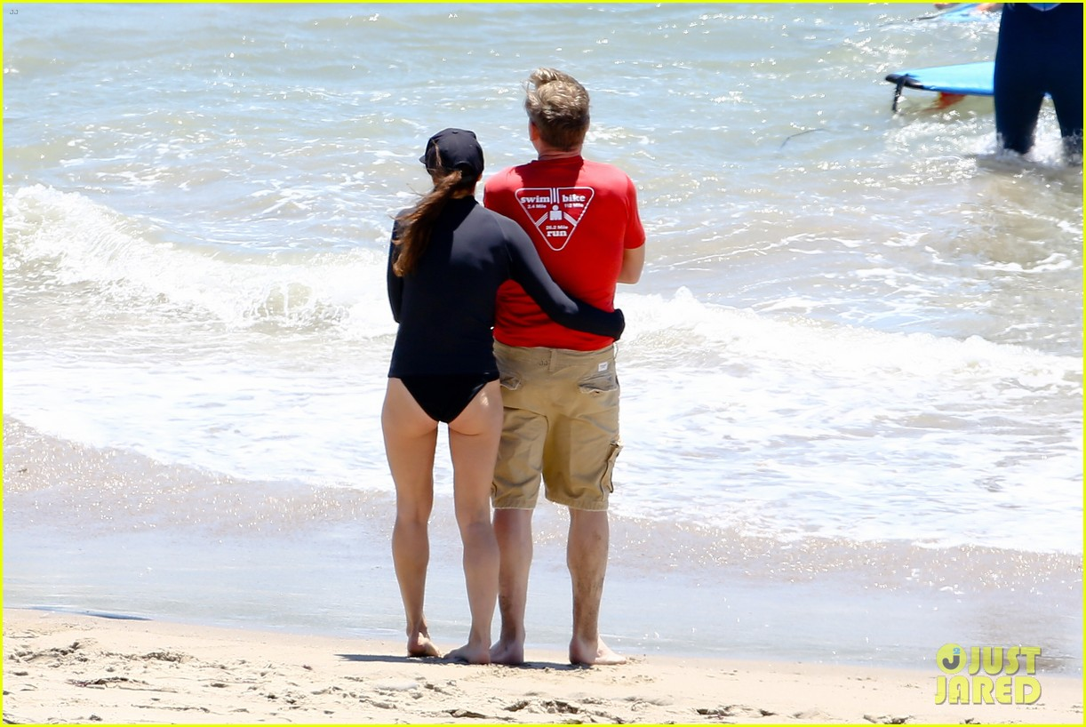 full sized photo of gordon ramsary shirtless beach 04