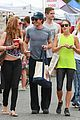 nikki reed ian somerhalder couple farmers market hug 16