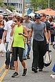nikki reed ian somerhalder couple farmers market hug 22