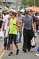 nikki reed ian somerhalder couple farmers market hug 22