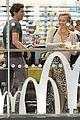 margot robbie enjoys movie mcdonalds in london 08
