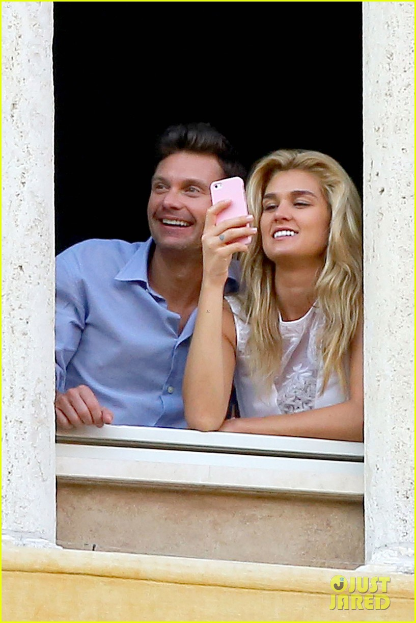 ryan seacrest cozies up to girlfriend shayna taylor 06