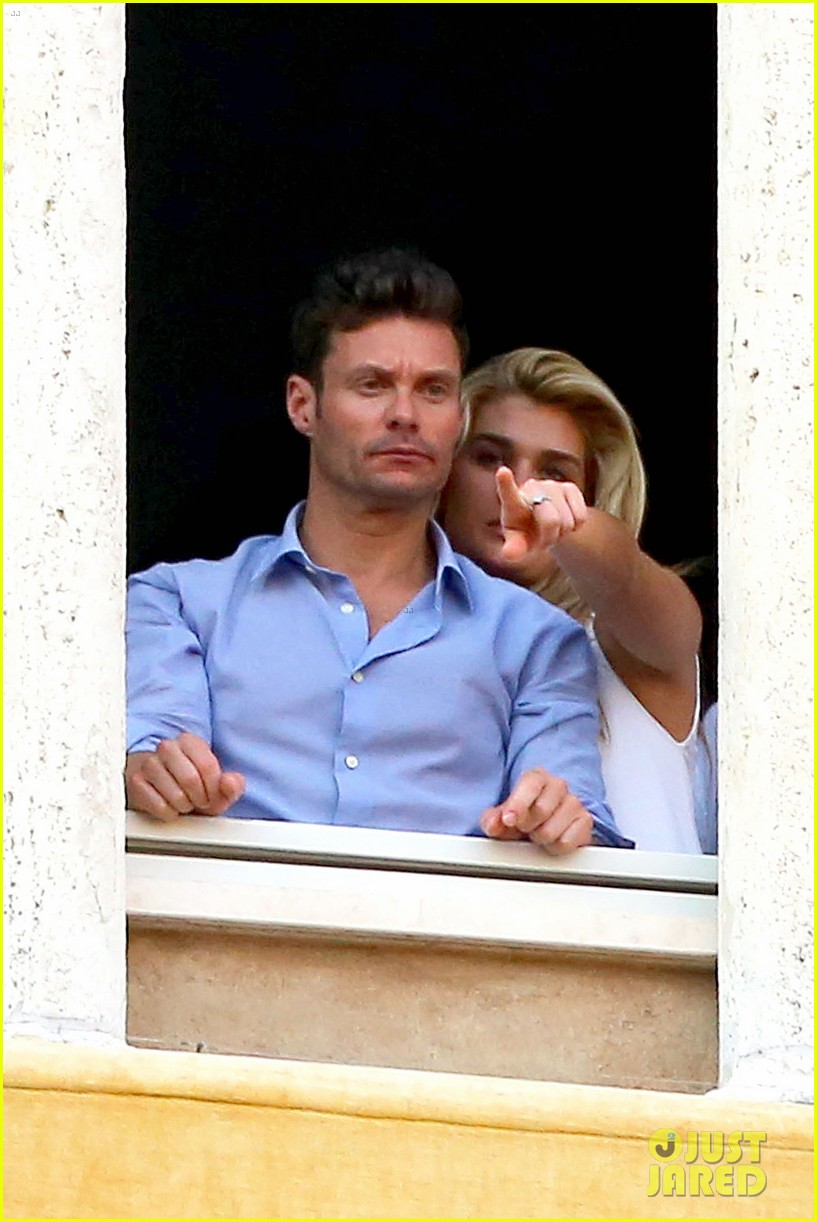 ryan seacrest cozies up to girlfriend shayna taylor 183149659