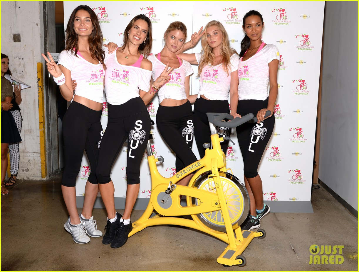 victorias secret angels go cycling for pelotonia 10
