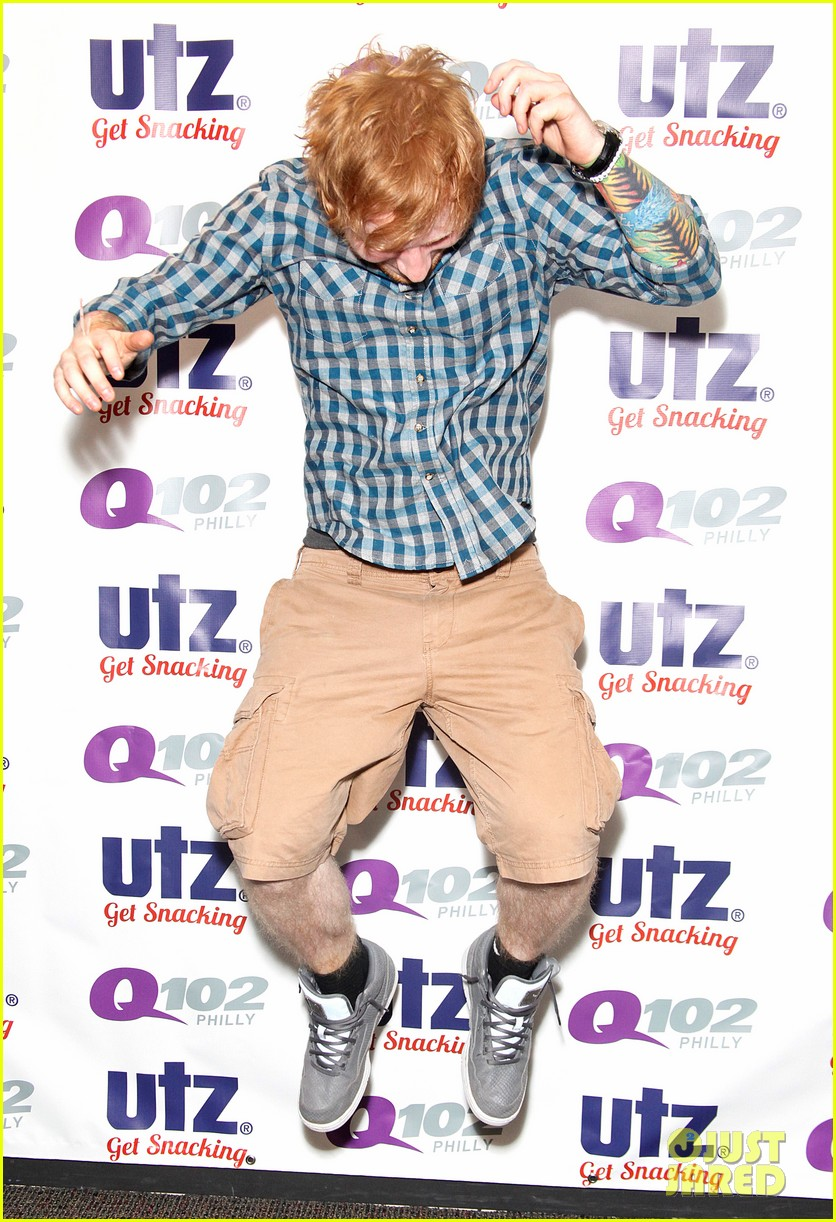 ed sheeran q102 fourth of july the roots 033150021