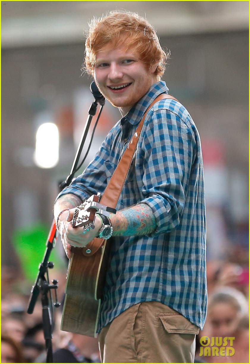 ed sheeran today show fourth of july 023149534