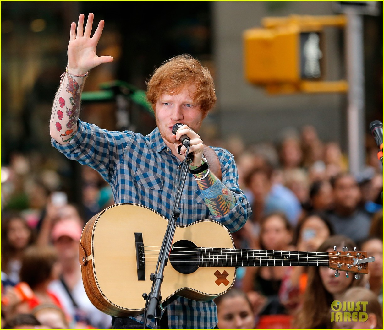 ed sheeran today show fourth of july 043149536