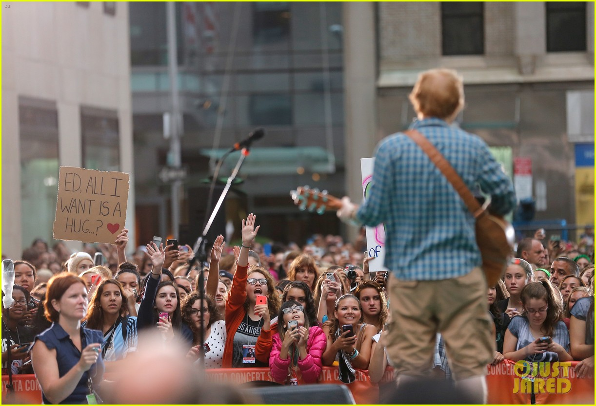 ed sheeran today show fourth of july 11