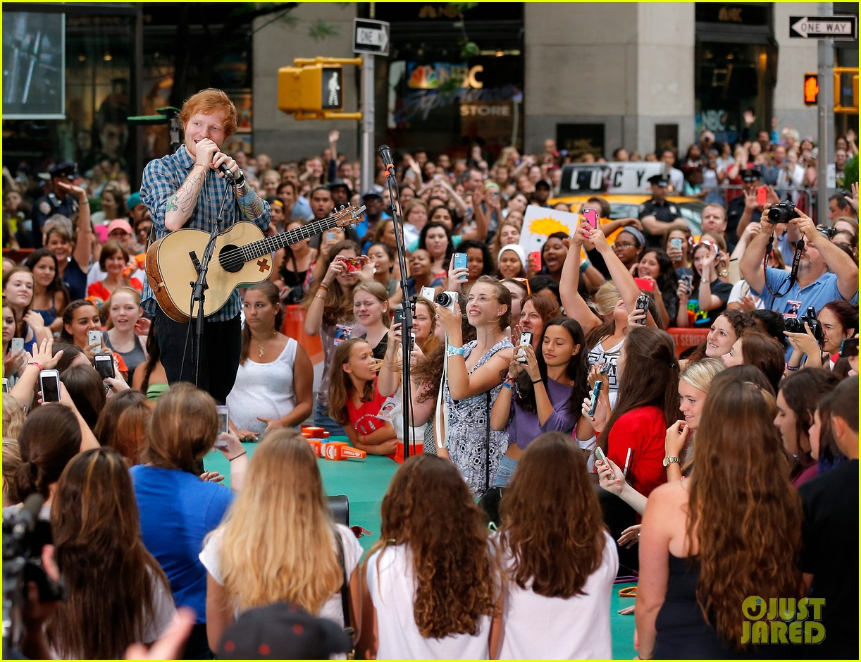 ed sheeran today show fourth of july 12