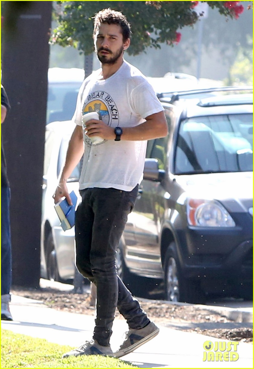 shia labeouf steps out for an early morning meeting 05