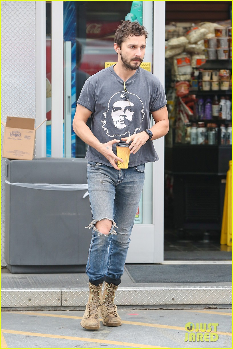 shia labeouf steps out smiling despite rehab reports 04a3147708