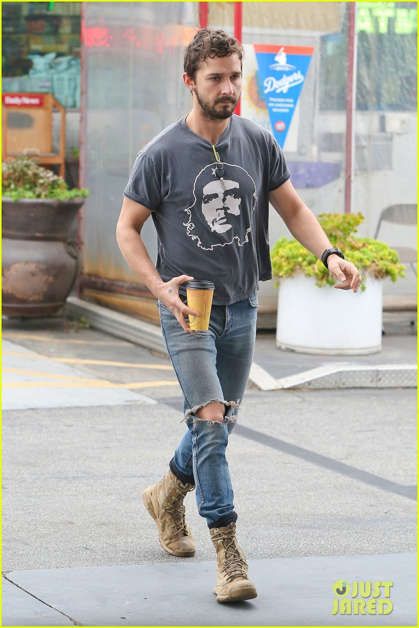 shia labeouf steps out smiling despite rehab reports 14