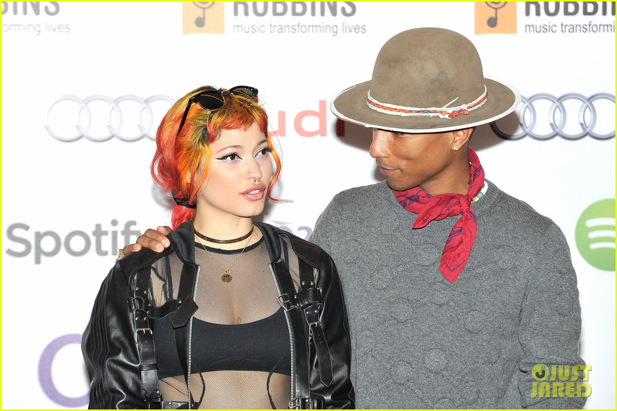 pharrell williams nordoff robbins audi event 263150487